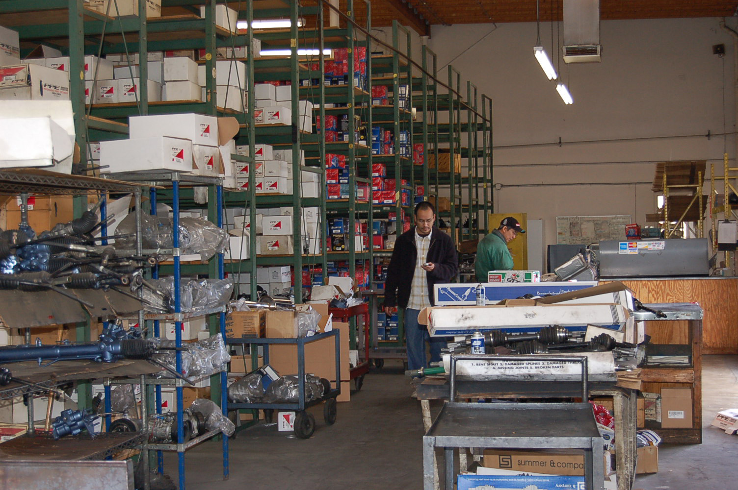 Warehouse of SAM LE Automotive