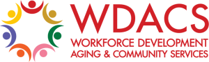 WDACS, Workforce Development Aging & Community Services (logo)